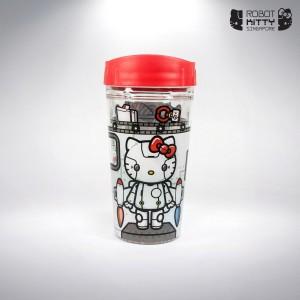 Robot Kitty Singapore Water Tumbler