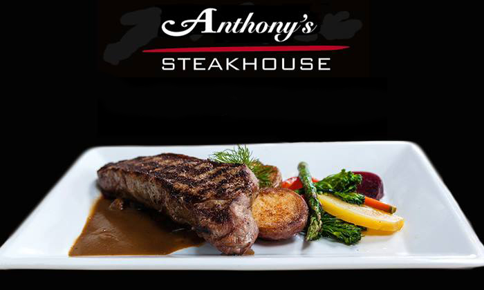 New York Strip wine Sauce and Vegetables