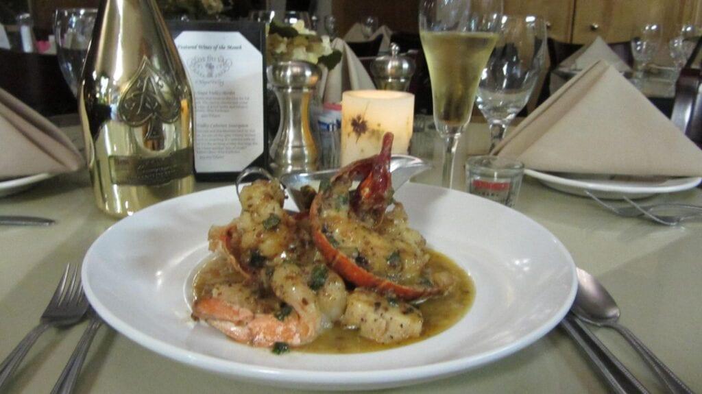 Lobster, Shrimp & Scallop