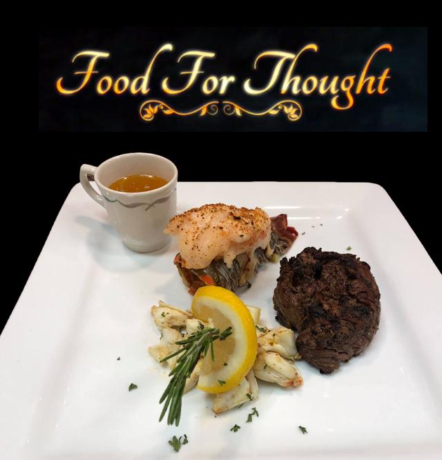 Black Steak & Seafood.