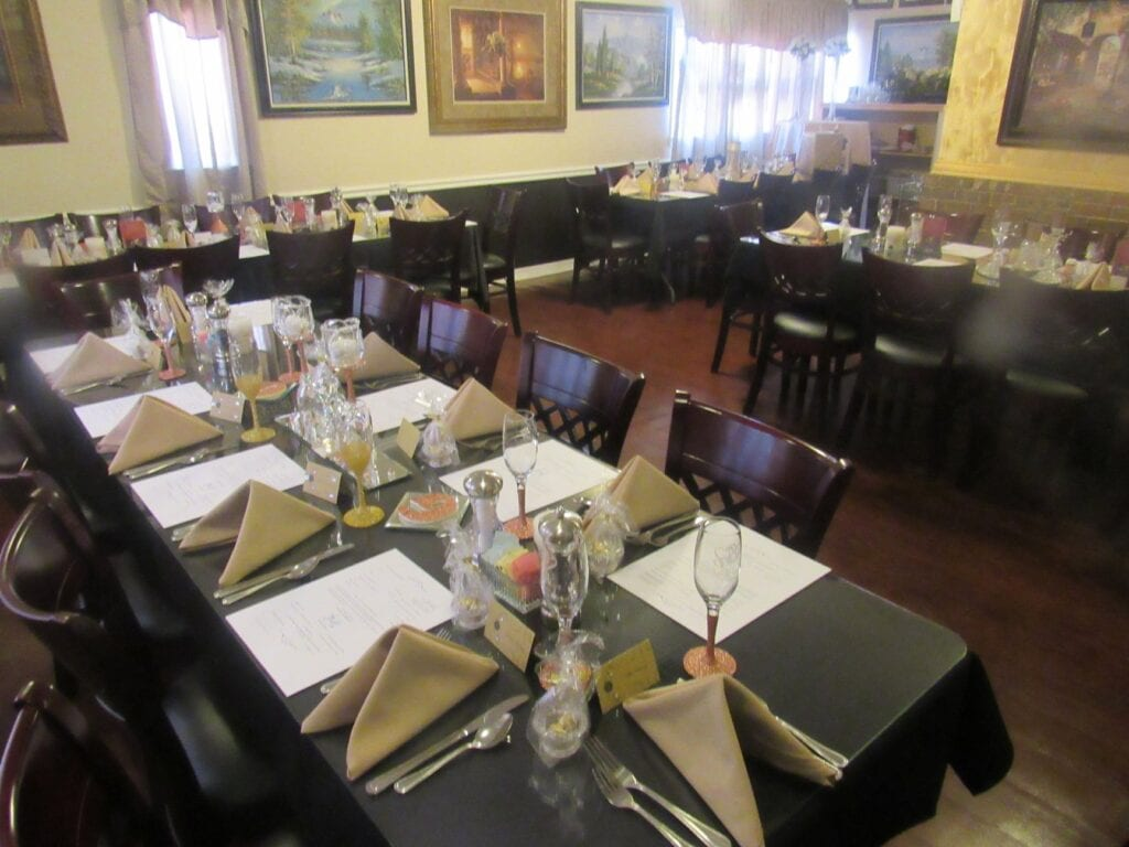 Celebrate your occassion in our Private Dining