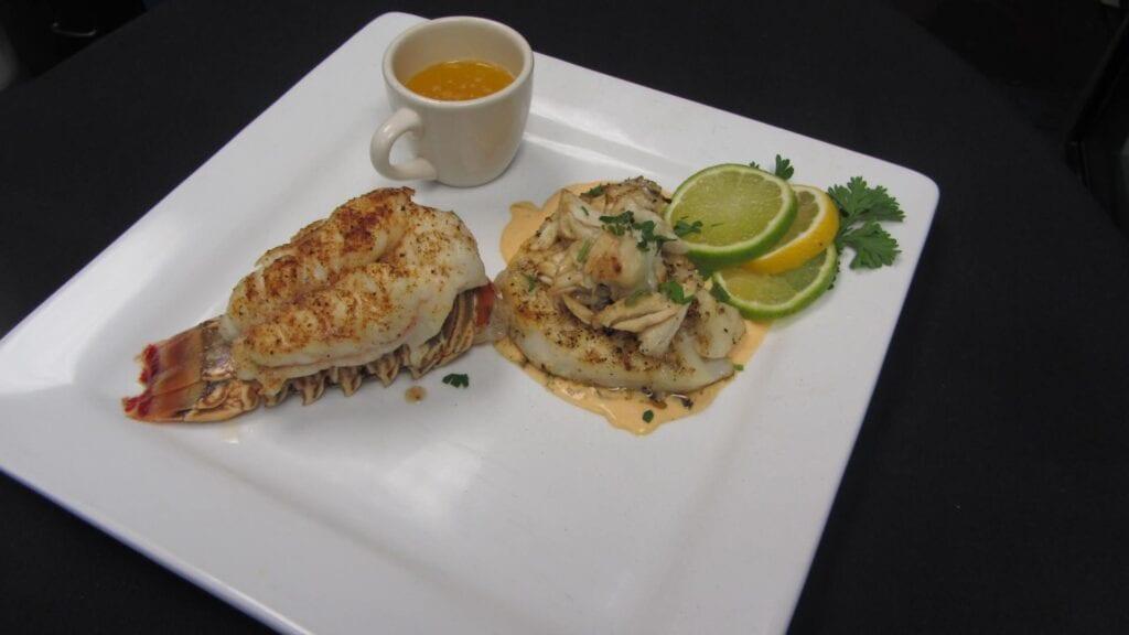 Seabass & Lobster