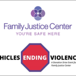 FBIBCAAA partners with the Family Justice Center to promote Vehicles Ending Violence: A drive-through donation event