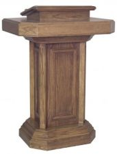 Pedestal Pulpit 355