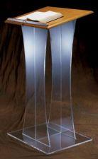 Acrylic Lectern 3304W