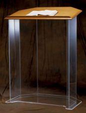 Acrylic Pulpit 3350W