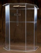 Acrylic Pulpit 3351