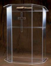 Acrylic Pulpit 3351
