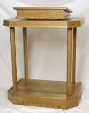 Acrylic Pulpit 3380