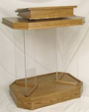 Acrylic Pulpit 3381
