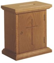 Wall Offering Box w/Lock 401