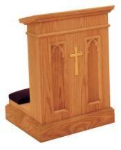 Prie Dieu w/Shelf 1210