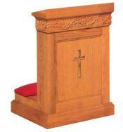 Prie Dieu w/Shelf 1410