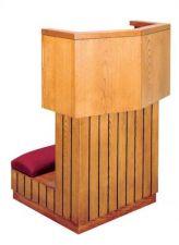 Prie Dieu w/Shelf 3710