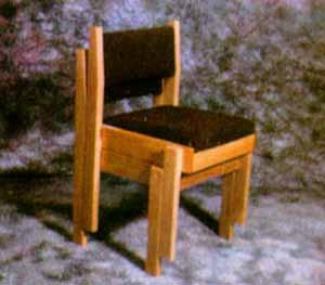 Wood Framed Model S1-Stackable