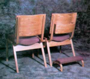 Wood Framed Model S2-Back w Kneeler