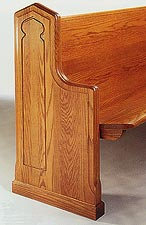 church-pew-end-no-130-picture