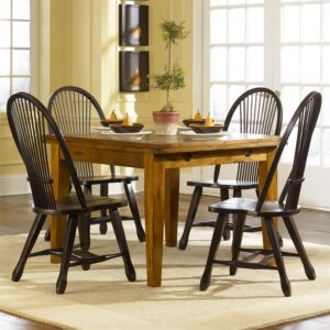 Liberty Treasures 5 Piece Dining Room Table Set