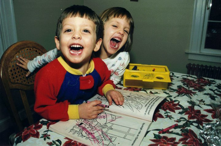 Alexandra Sordi Why I'm A Graphic Designer Blog Post Childhood Photo