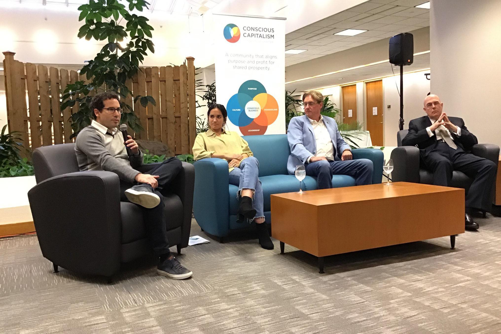 conscious capitalism connecticut event workshop panelists
