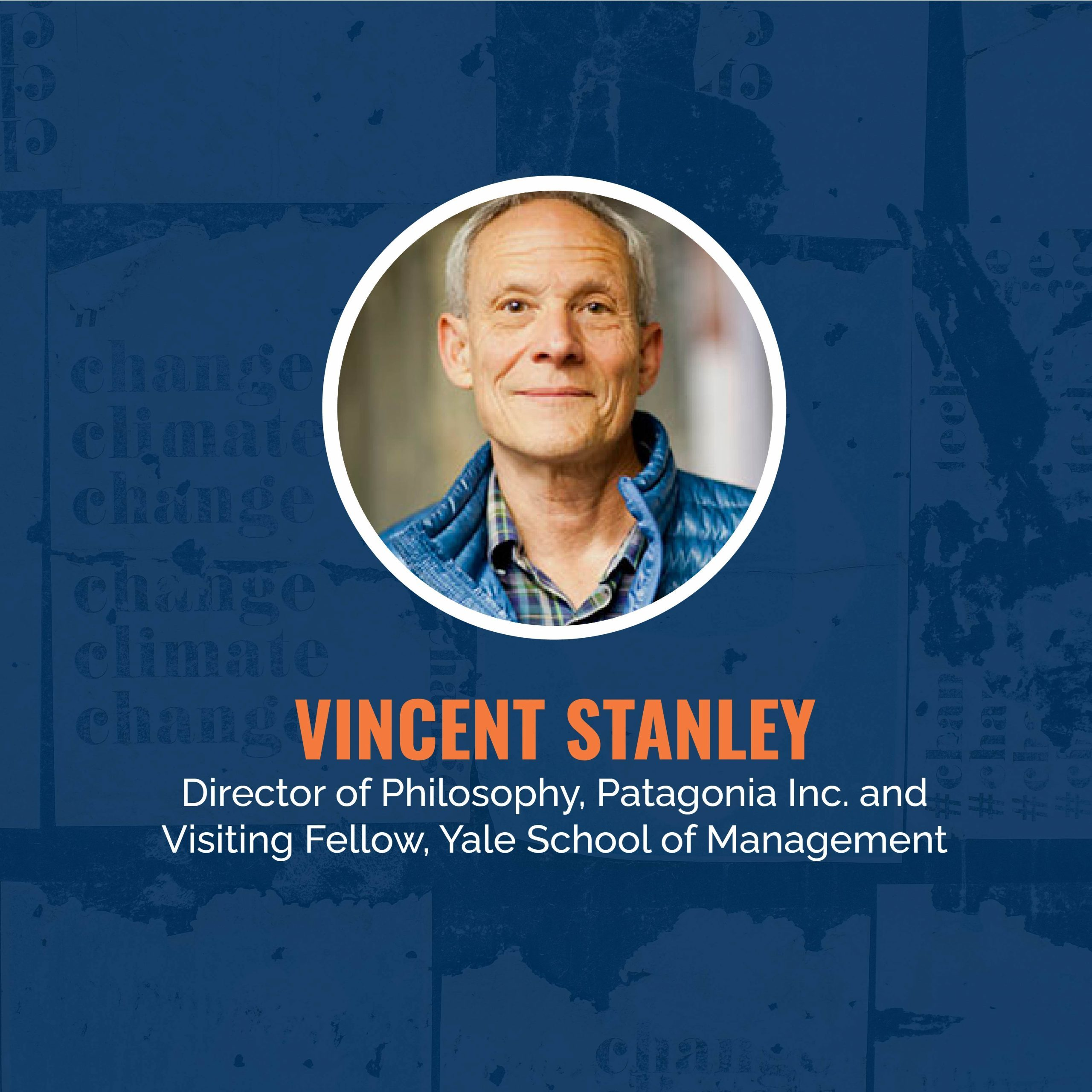 keynote speaker vincent stanley from patagonia