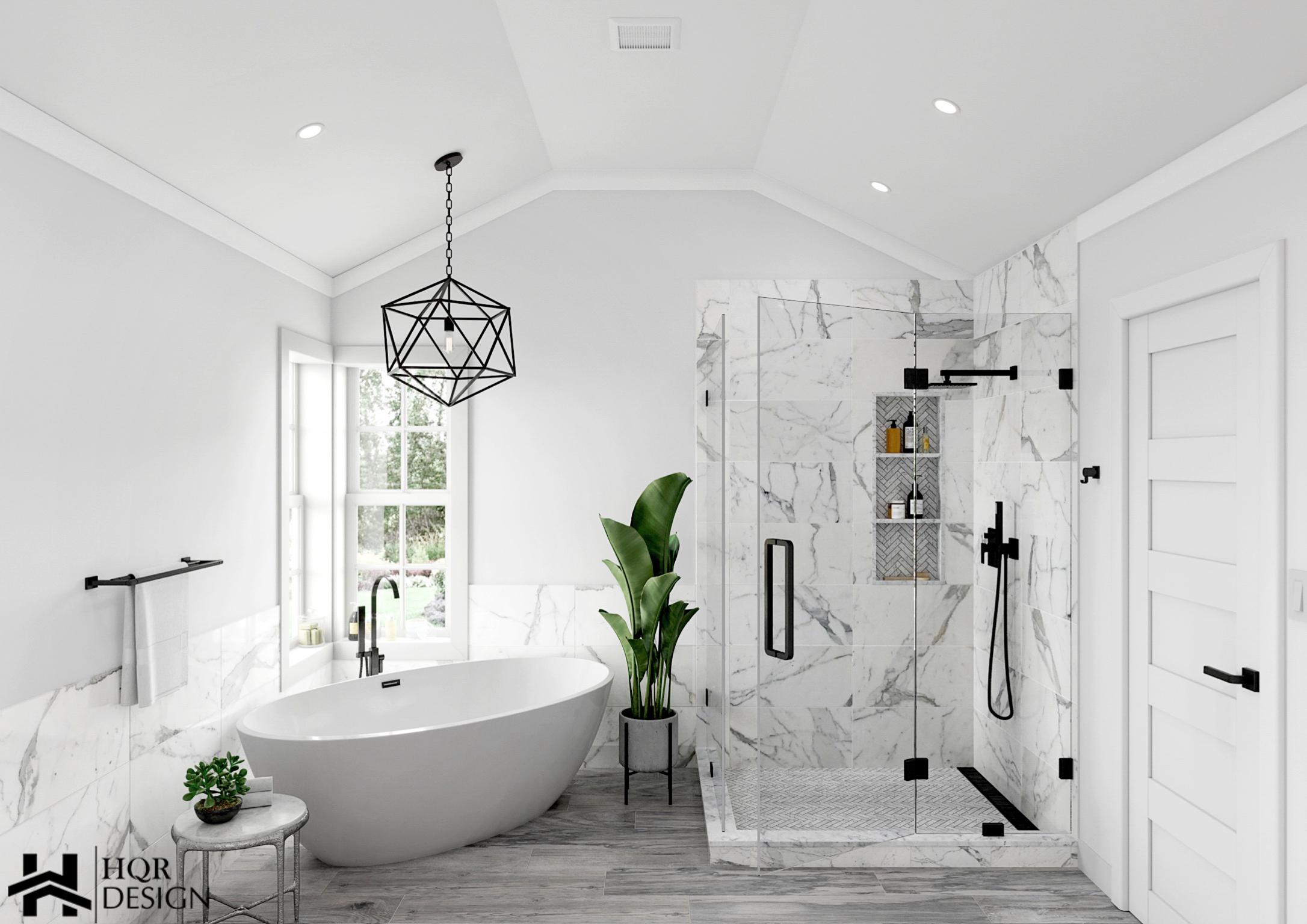 Danville_ Contemporary Bathroom