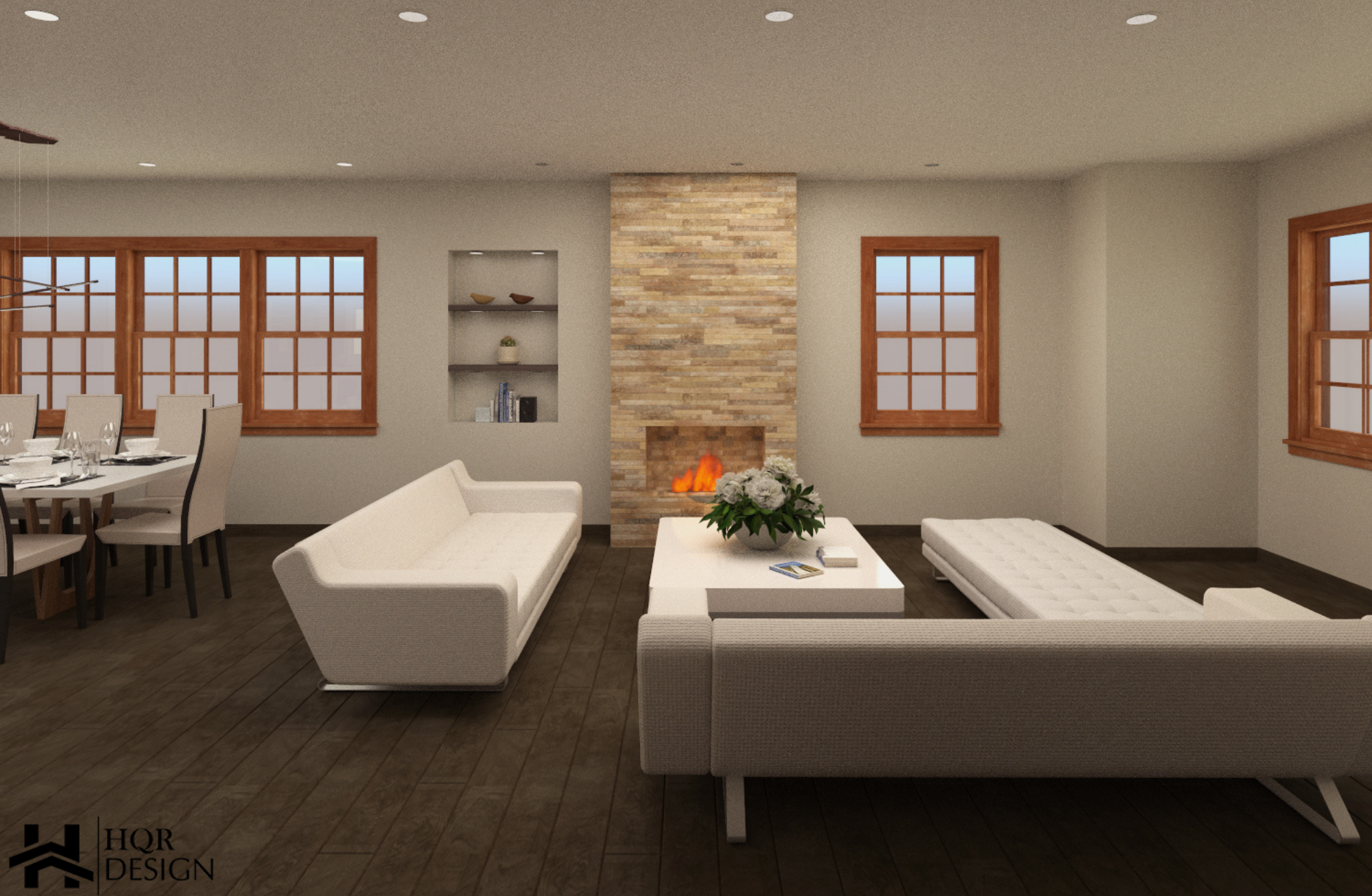 SF Open layout of kitchen and dining room (7)