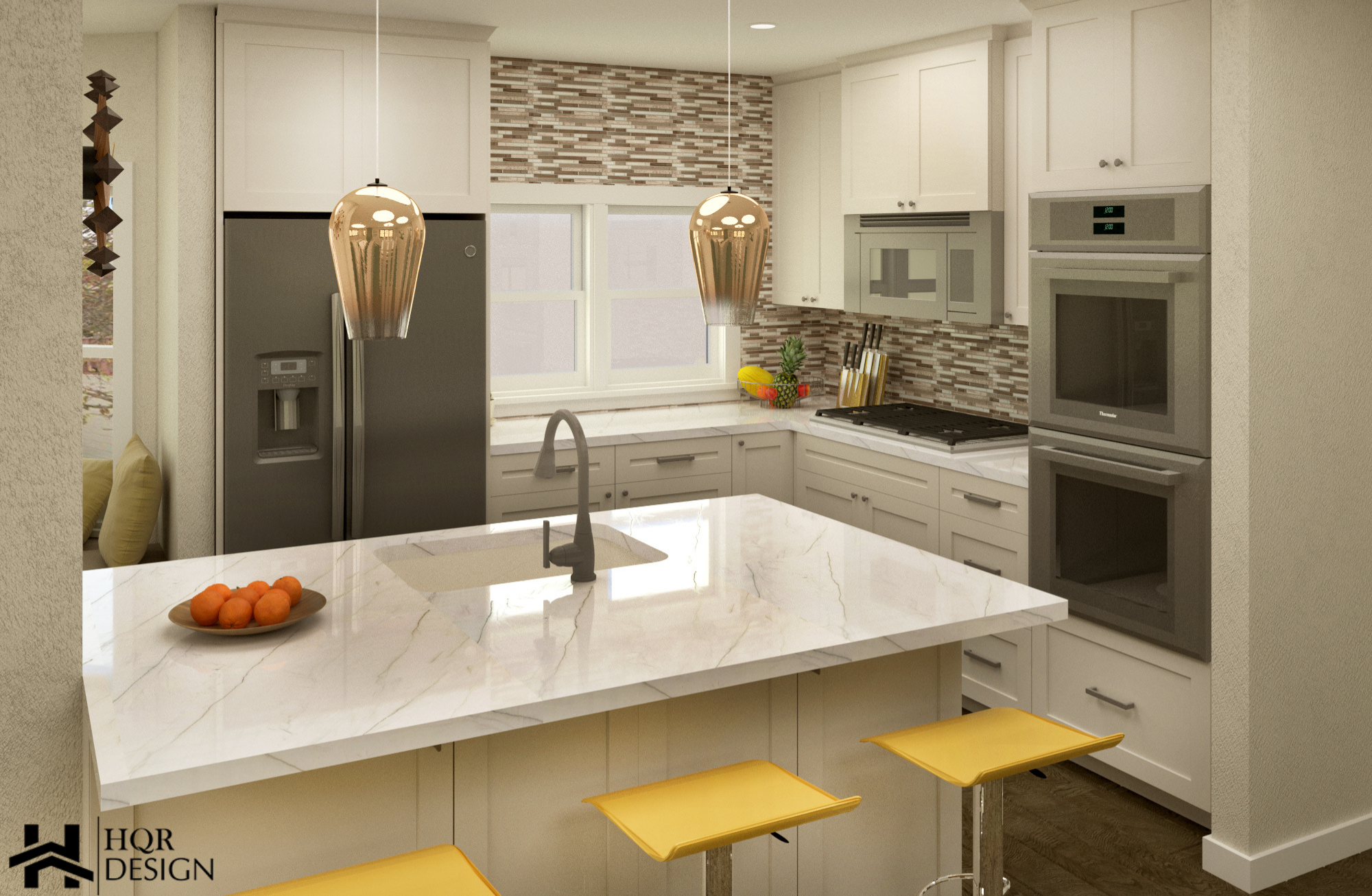 SF Open layout of kitchen and dining room (8)