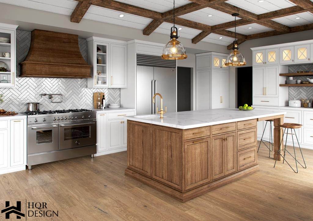 Alamo Rustic Kitchen and Living room (6)