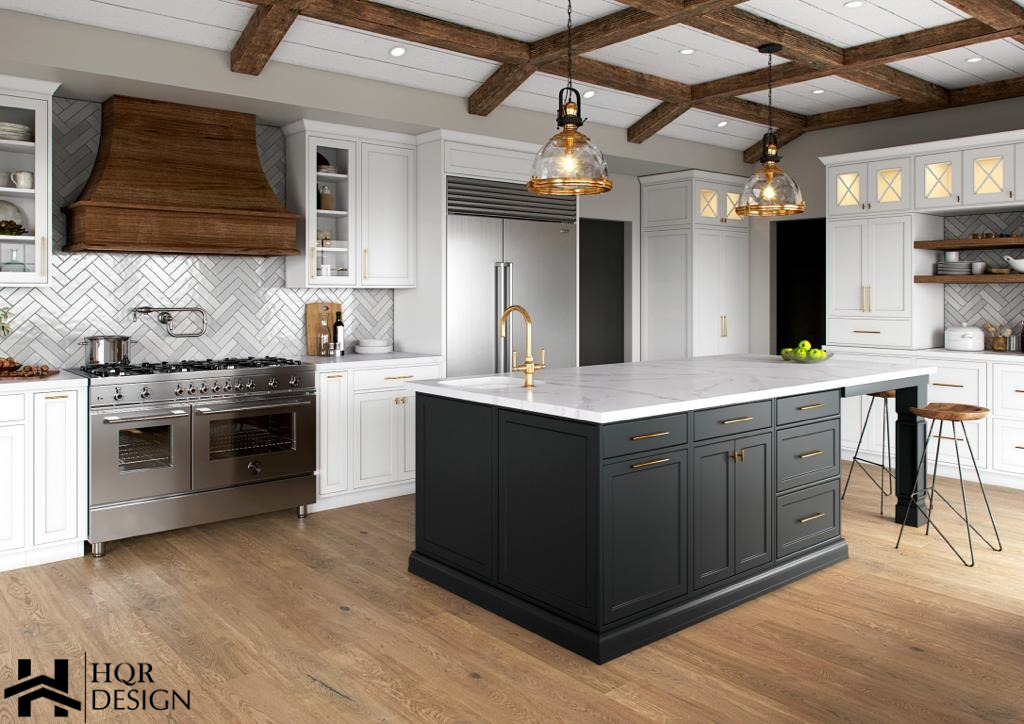 Alamo Rustic Kitchen and Living room