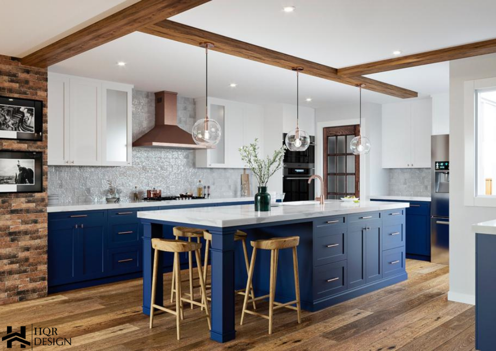 Rustic Blue kitchen (1)