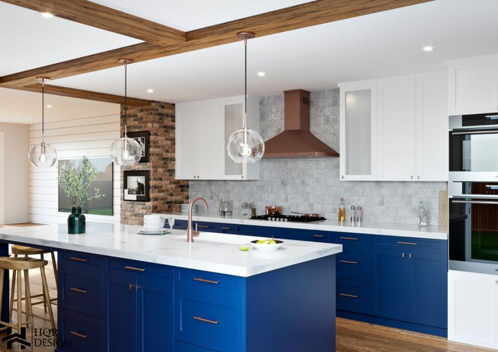 Rustic Blue kitchen (2)