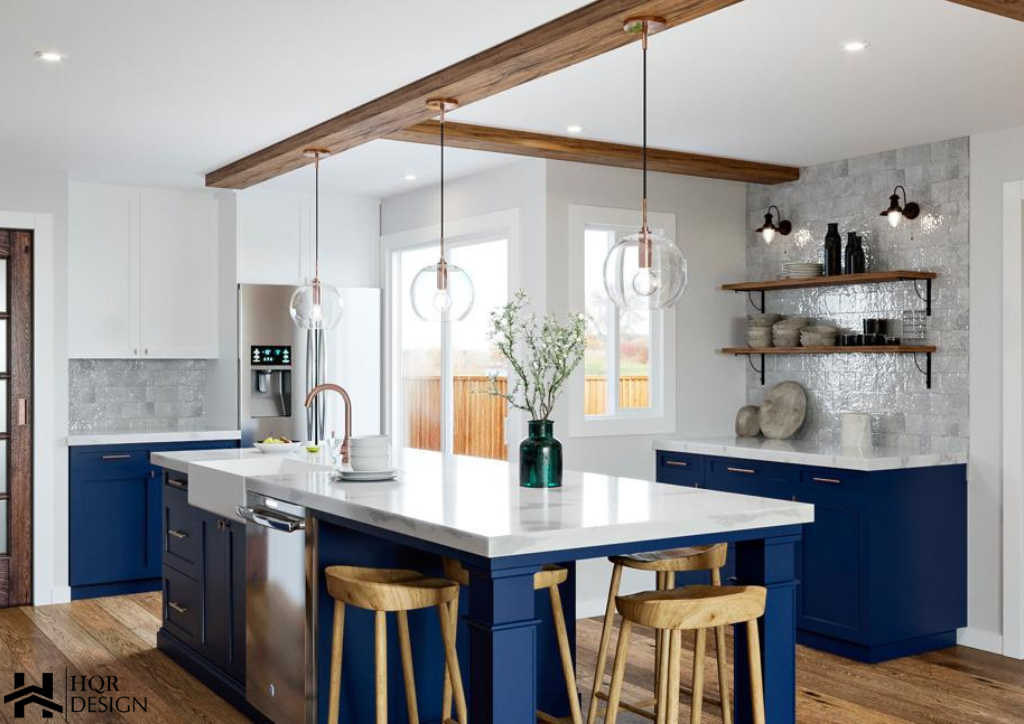 Rustic Blue kitchen (3)