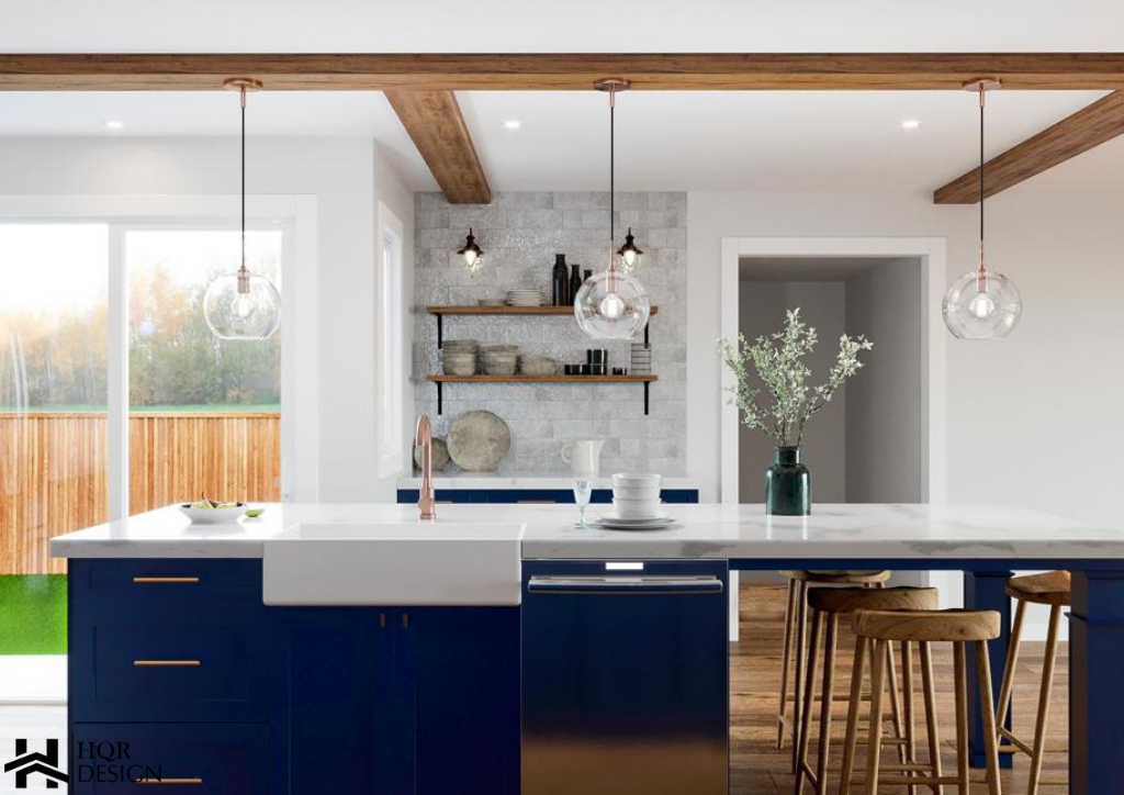 Rustic Blue kitchen (5)