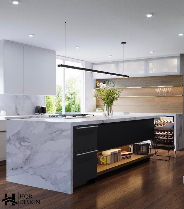 Oakland contemporary kitchen – HQR Design
