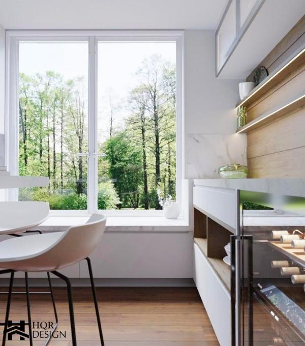 Oakland contemporary kitchen – HQR Design(1)