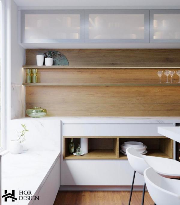Oakland contemporary kitchen – HQR Design(5)