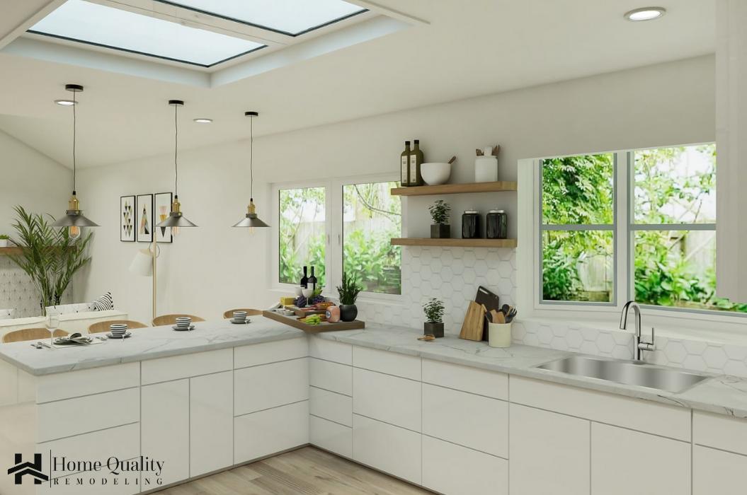 walnut Creek Full Remodel Kitchen -HQR Design (1)