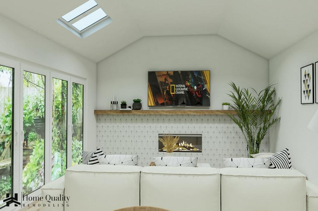 walnut Creek Full Remodel Kitchen -HQR Design