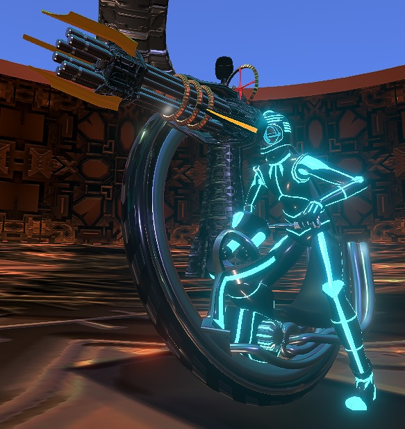 Cyclotronica Rider & Gun