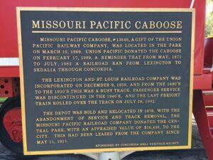 Missouri Pacific Caboose