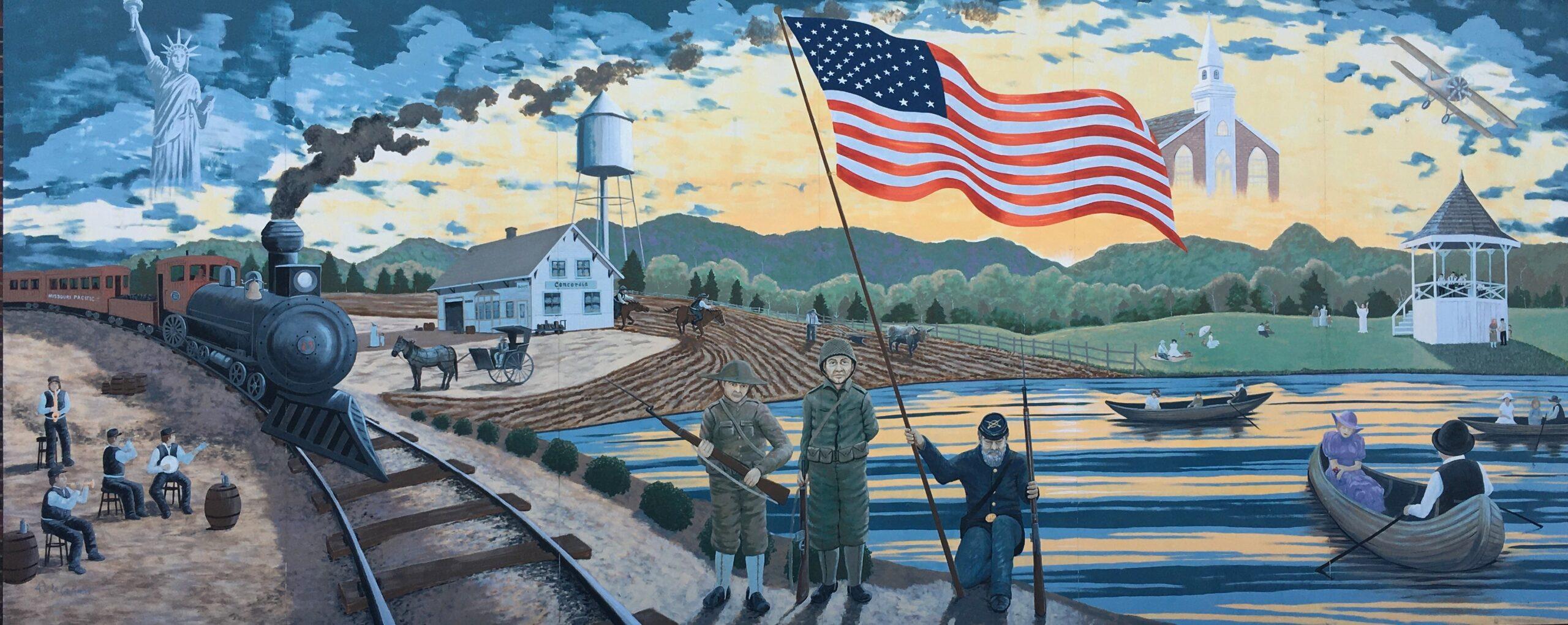 Concordia History Mural