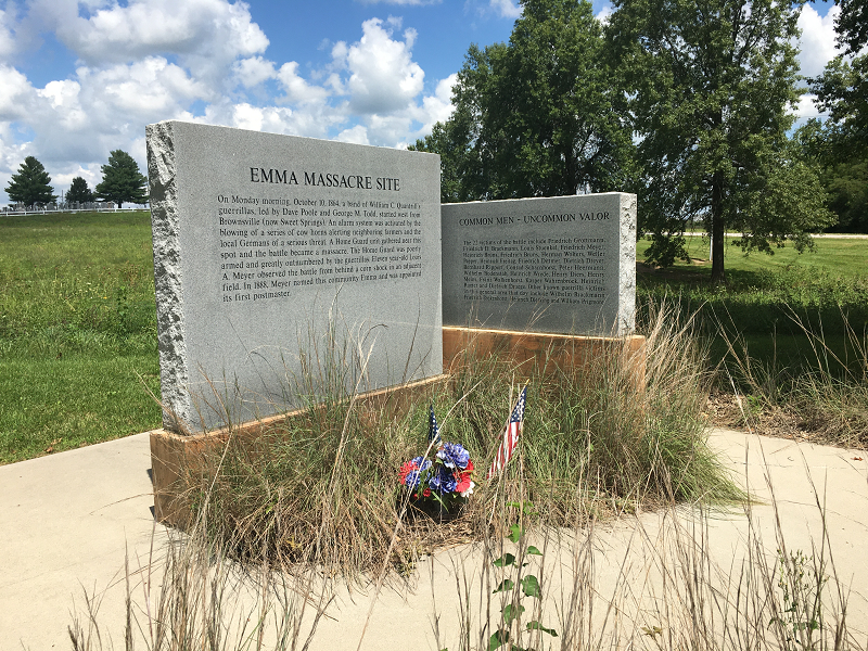 Emma Massacre Site