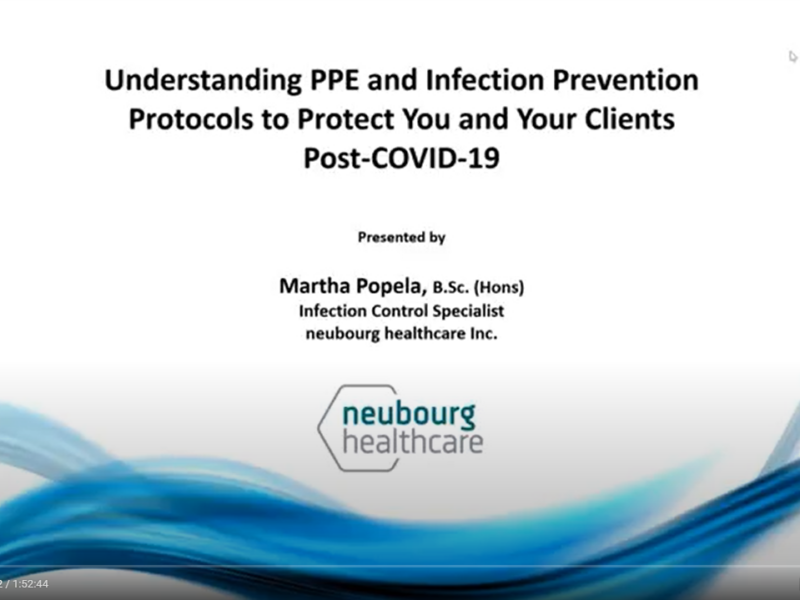 Understanding PPE and Infection Prevention
