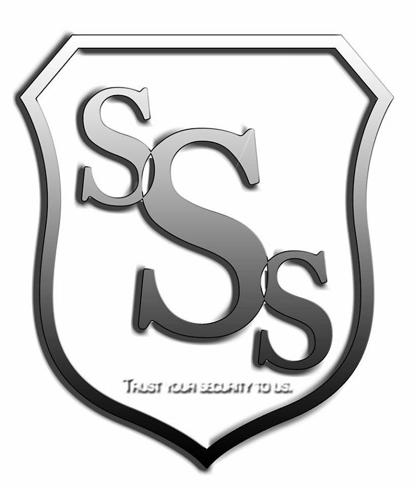 SSS white logo