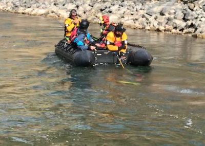 Swiftwater Boat Rescue
