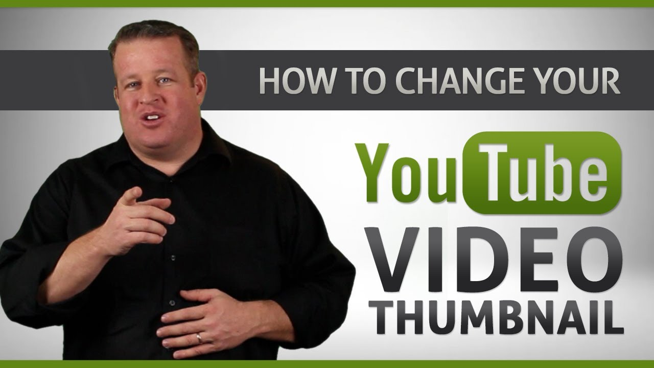 how to change video thumbnail