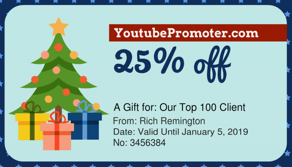 youtube coupon