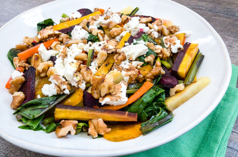 Roasted Mixed Root Vegetable Salad