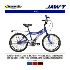 BICICLETA JAWY RODADA 12